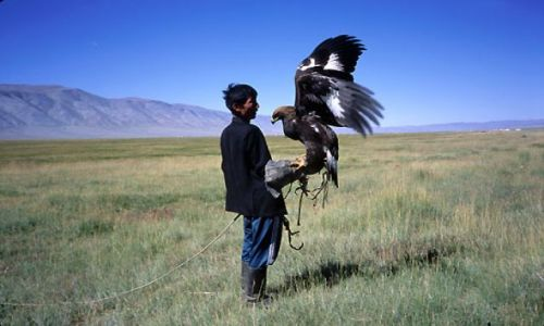 MONGOLIA / zachodnia Mongolia / Mongolia / przyjaciele