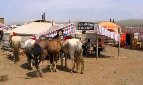 Zdjęcie MONGOLIA / Ulan Bator / stepy - 30km od stolicy / Restauracja