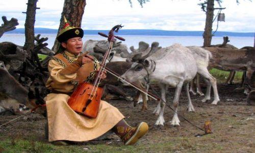 Zdjecie MONGOLIA / CHUWSGUL / gdzies na szlaku / piekna ta mongolska kultura