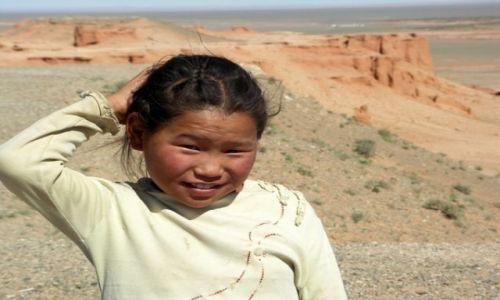 MONGOLIA / Gobi / Czerwone Klify /  Mała Mongołka 1