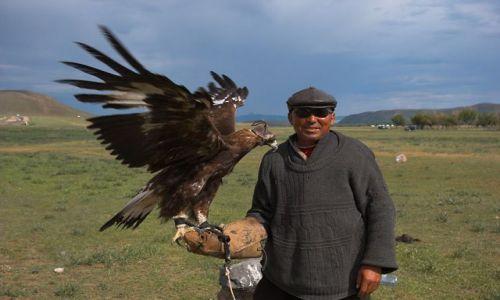 Zdjecie MONGOLIA / brak / Centralna Mongolia / Polowanie z orłem