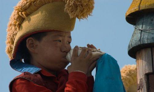 MONGOLIA / Charchorin  / Erdene Dzuu / Mały mnich
