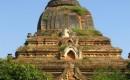 Zdjecie MYANMAR / środkowa Birma / Amarapura / zapomniana stupa