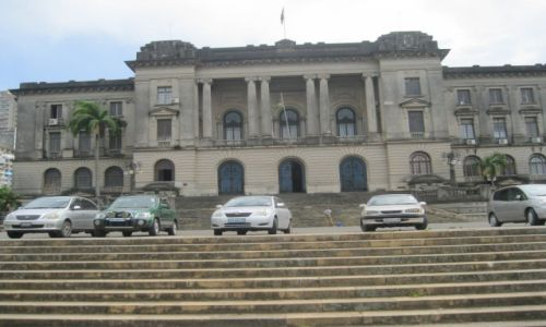 MOZAMBIK / Mozambik  -  Maputo / Maputo - stoloca Mozambiku / Ratusz w Maputo