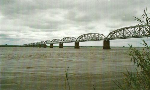 Zdjęcie MOZAMBIK / Środk. Mozambik / Mutarara / Most przez Zambezi