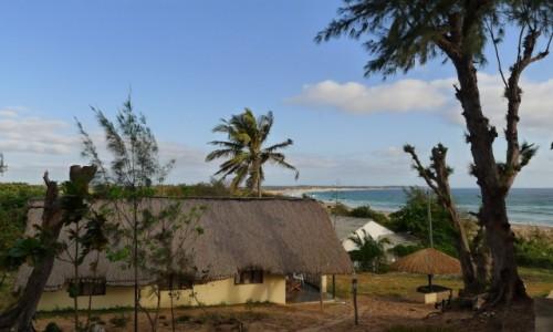 Zdjecie MOZAMBIK / Poł. - wschodni Mozambik  / Zatoka Tofo/  kemping / Kemping na bogato