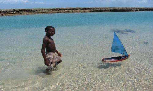 Zdjecie MOZAMBIK / Archipelag Bazaruto / wysepka niedaleko Vilankulo / kiedyś zostanę żeglarzem