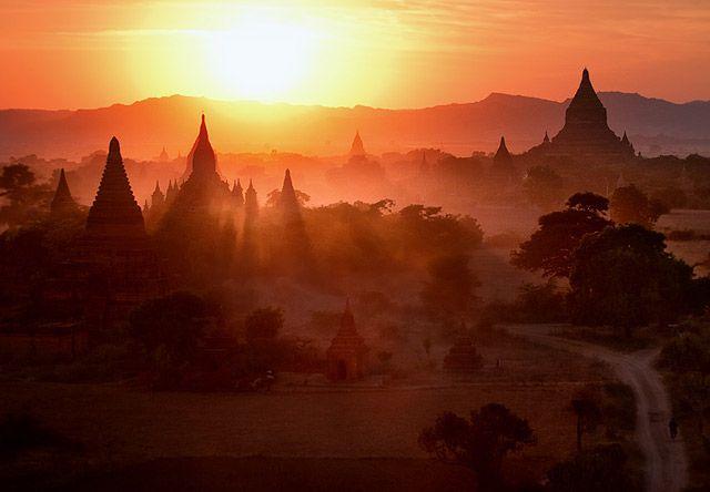 Zdjęcia: Bagan, Mandalay, w basniowej krainie, MYANMAR