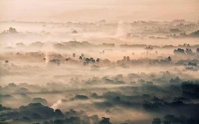 Zdjęcia: Mandalay, Mandalay, otulone we mgle, MYANMAR