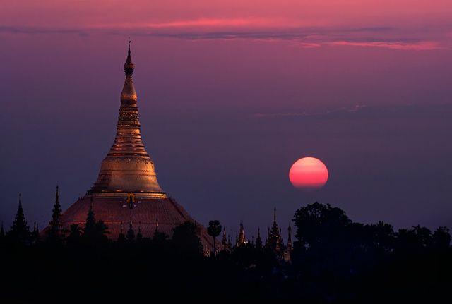 Zdjęcia: Yangoon, Yangoon, Shwedogon, MYANMAR