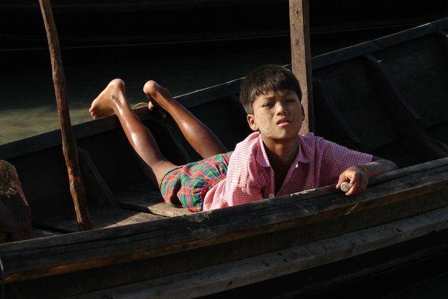 Zdjęcia: Ngapali beach, Chlopiec, MYANMAR