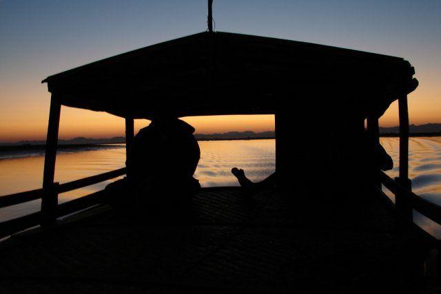 Zdjęcia: Lodka, Kaladan River, MYANMAR