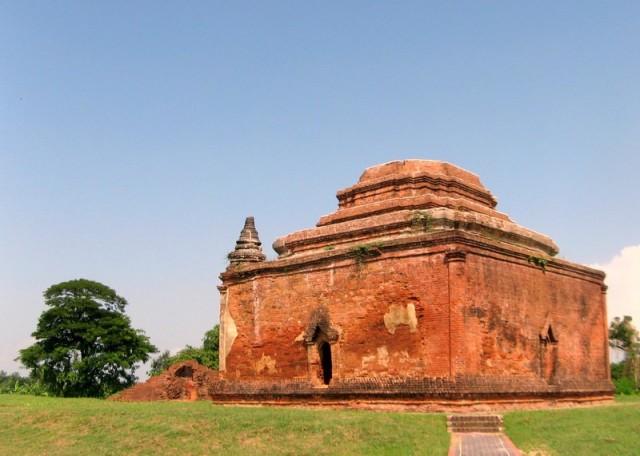 Zdjęcia: Sri Ksetra, Okolice Pyain, Pagoda Htaung, MYANMAR