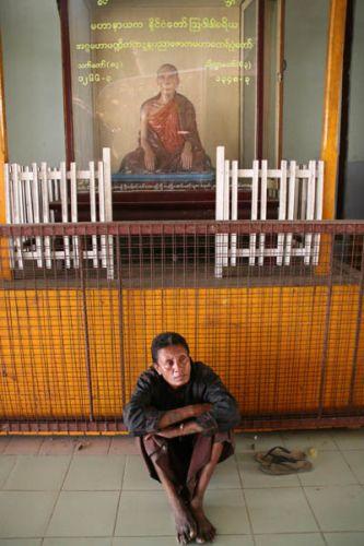 Zdjęcia: Mandalay, Płd.Birmy, U swego BUDDY:, MYANMAR