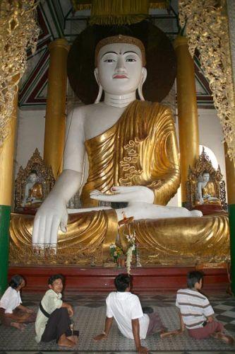 Zdjęcia: Schwedagon Pogoda, Płd.Birmy, U  swego BUDDY:, MYANMAR