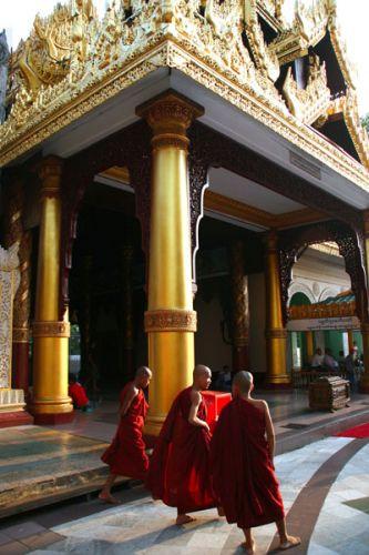 Zdjęcia: Schwedagon Pogoda, Płd.Birmy, * * *, MYANMAR