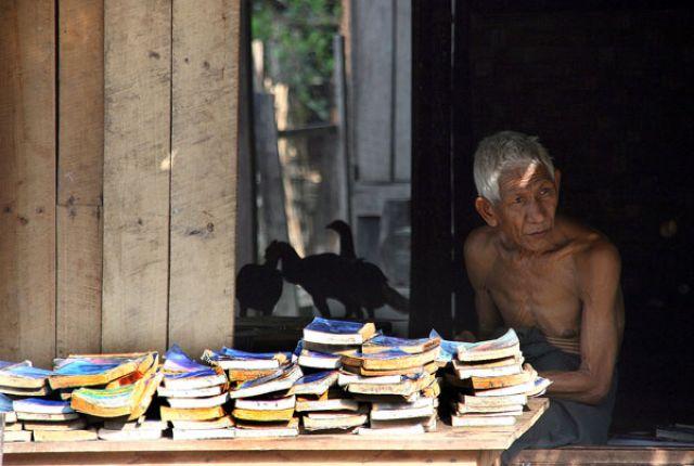 Zdjęcia: NGAPALI BEACH, Księgarz, MYANMAR