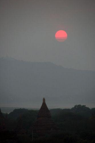 Zdjęcia: BAGAN, Cisza, MYANMAR
