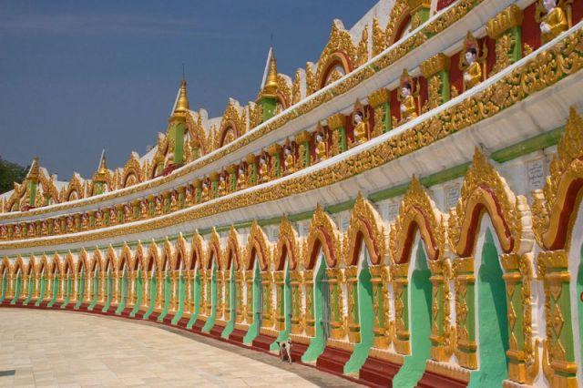 Zdjęcia: Pagoda KUTHODAW, Mandalay 2, MYANMAR