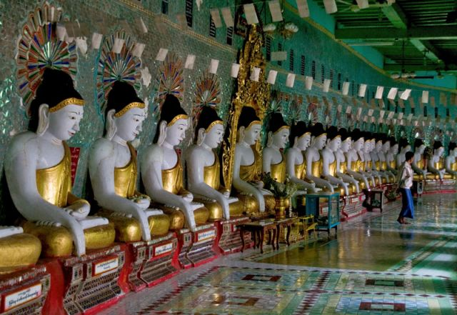 Zdj�cia: Pagoda KUTHODAW, Mandalay4, MYANMAR