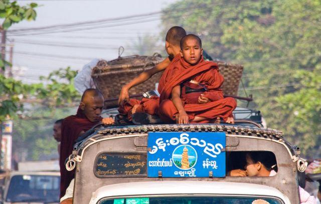 Zdjęcia: YANGON, Na gapę, MYANMAR