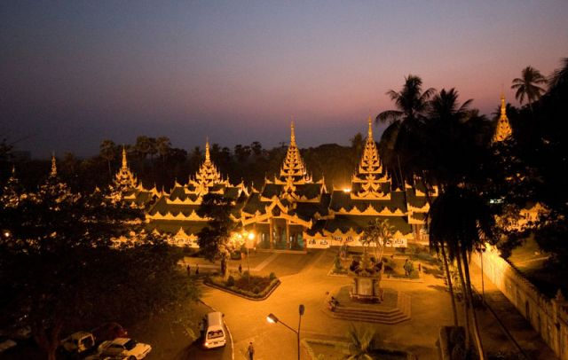 Zdjęcia: MANDALAY Shwenandaw, Cuda 2, MYANMAR