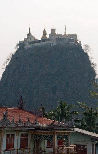 Zdjęcia: Góra POPA Swieta Góra Bogów, * * *, MYANMAR