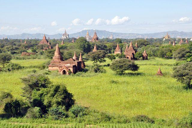 Zdjęcia: Bagan, Bagan ra z jeszcze.. Tym razem widok na druga strone :), MYANMAR
