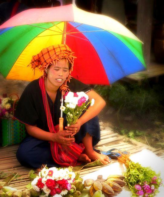 Zdjęcia: Jezioro Inle ( Inle lake ), Prowincja Shan, w kolorach tęczy ..., MYANMAR