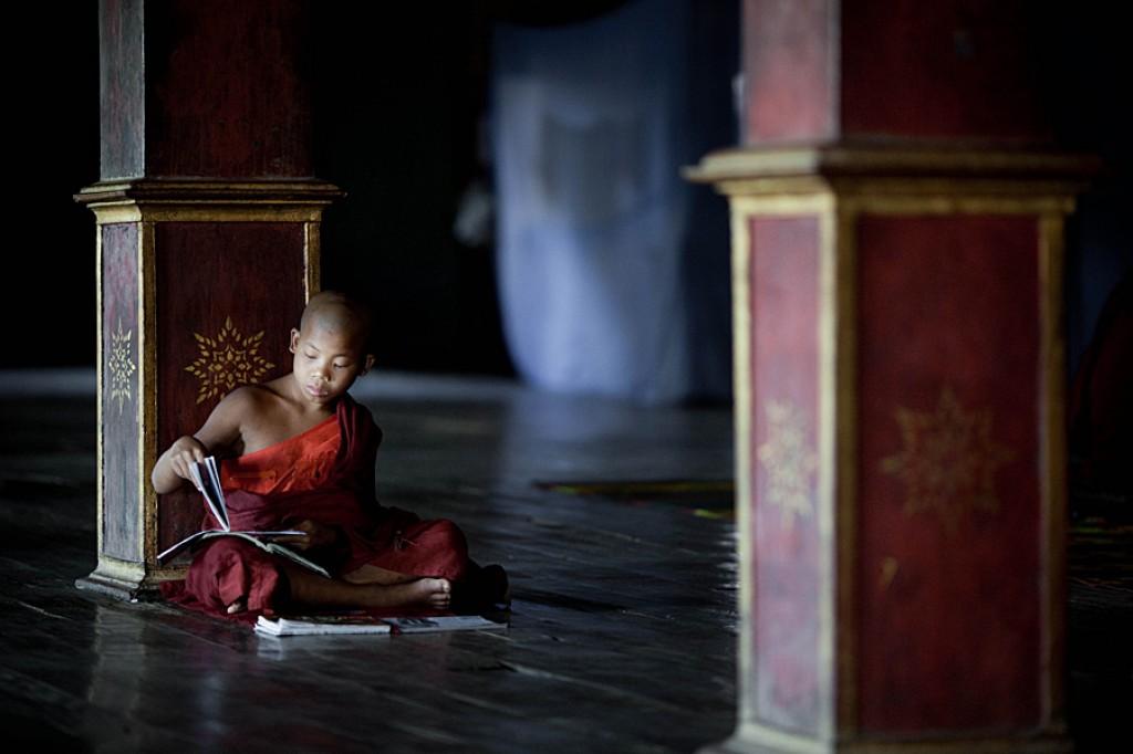 Zdjęcia: Jezioro Inle, Jezioro Inle, Życie to wieczna nauka, MYANMAR