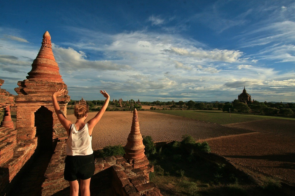 Zdjęcia: Bagan, krajobraz w bagan, MYANMAR
