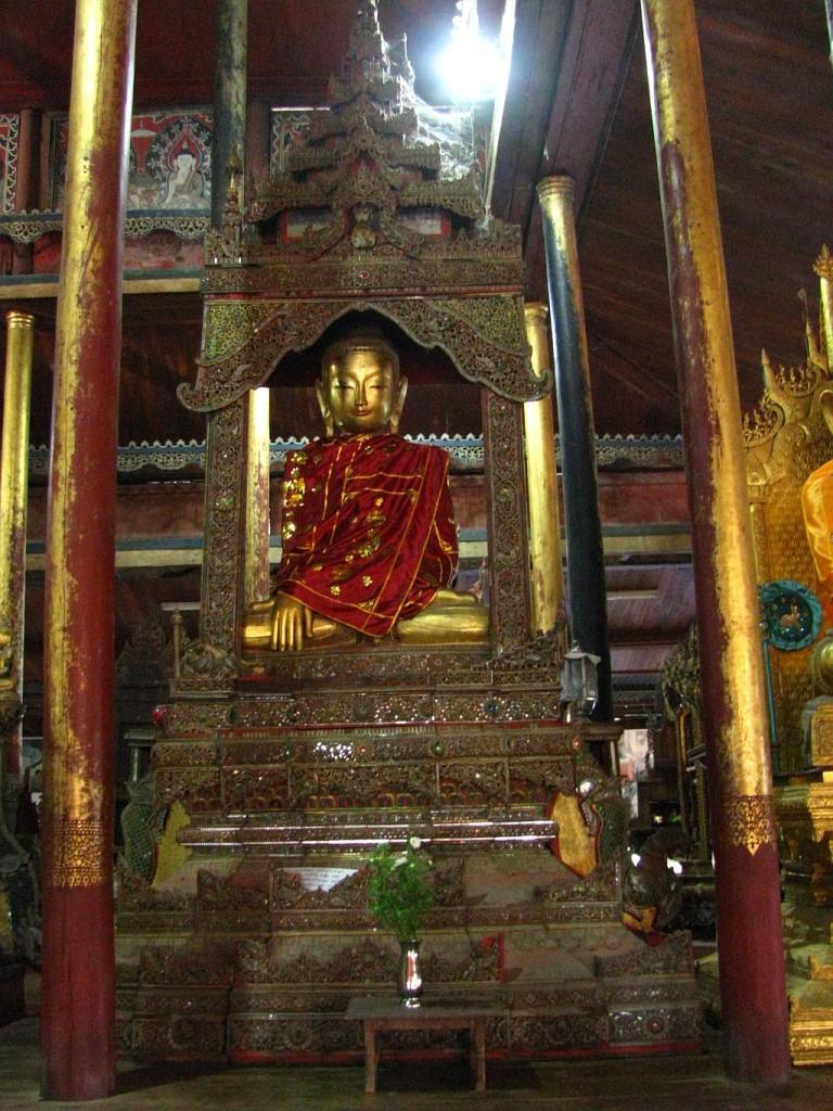 Zdjęcia: jezioro Inle, stan Shan, klasztor Skaczącego Kota, MYANMAR