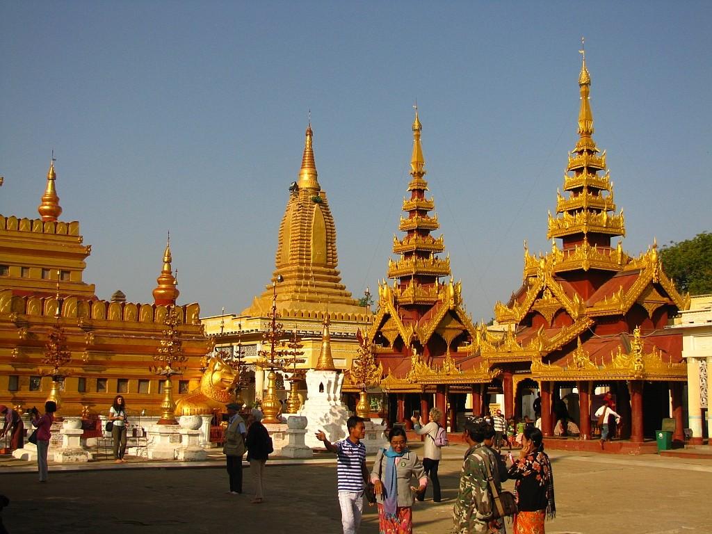 Zdjęcia: Stary Bagan, środkowa Borma, Shwezigon Paya, MYANMAR
