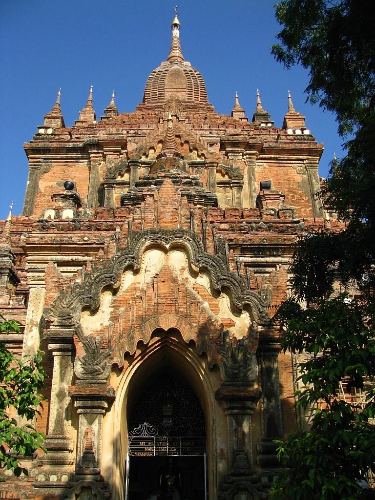 Zdjęcia: Stary Bagan, środkowa Birma, Htilominlo Patho, MYANMAR