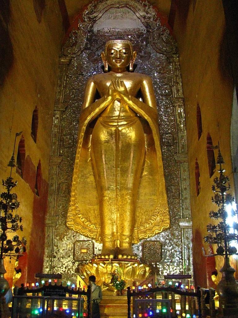 Zdjęcia: Stary Bagan, środkowa Birma, Ananda Paya, MYANMAR