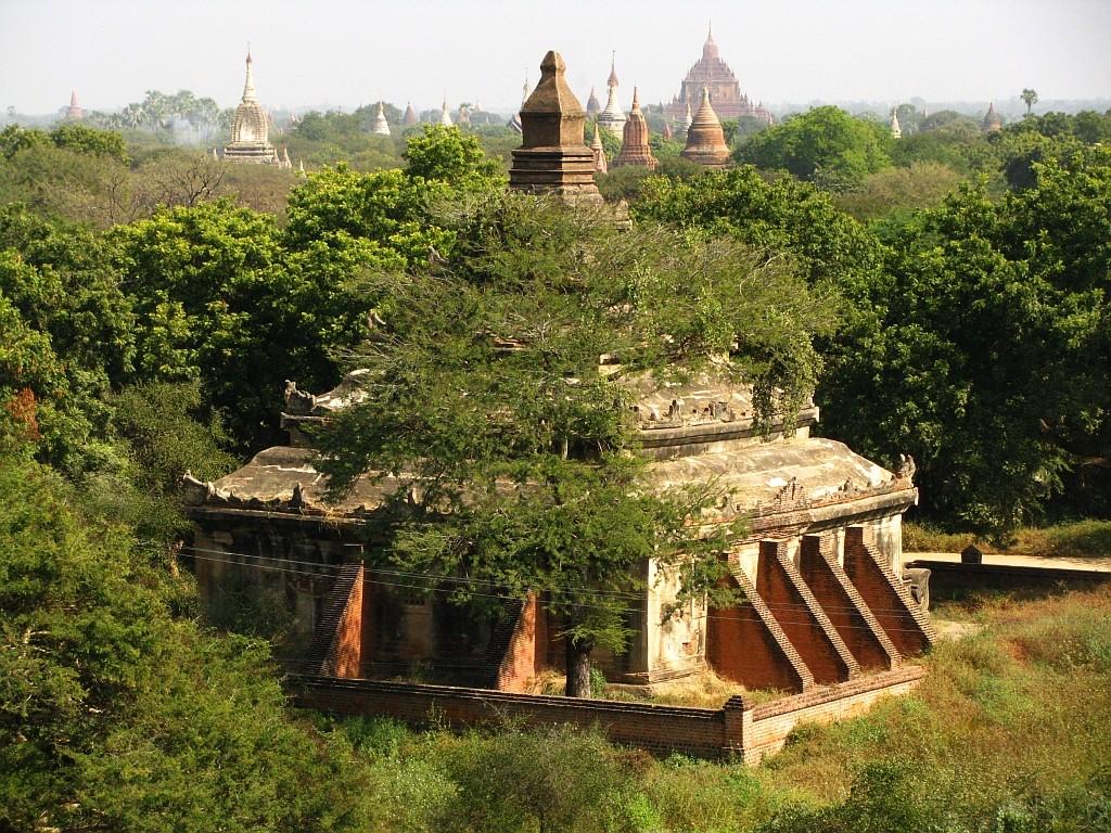 Zdjęcia: Stary Bagan, środkowa Birma, Pagody Baganu, MYANMAR
