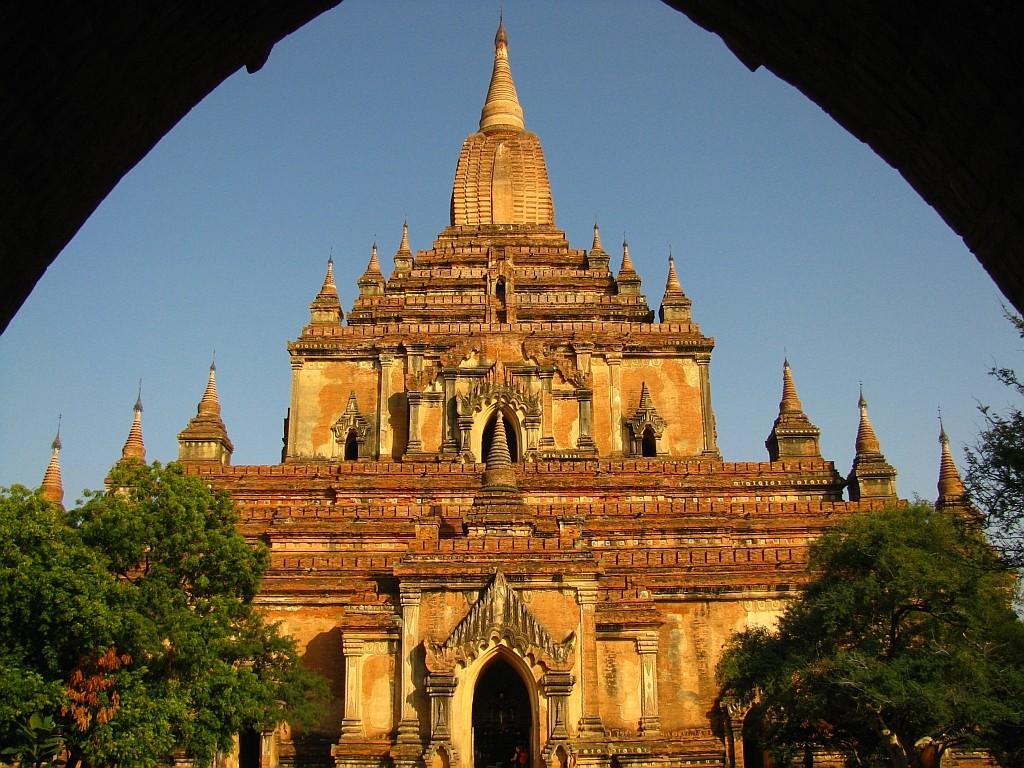 Zdjęcia: Stary Bagan, środkowa Birma, Sulamani Patho, MYANMAR
