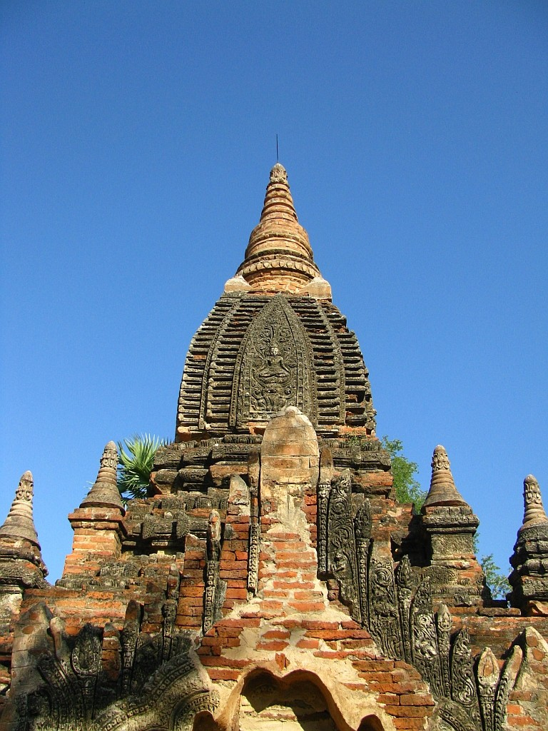 Zdjęcia: Nyaung OO, środkowa Birma, Thetkyamuni Patho, MYANMAR