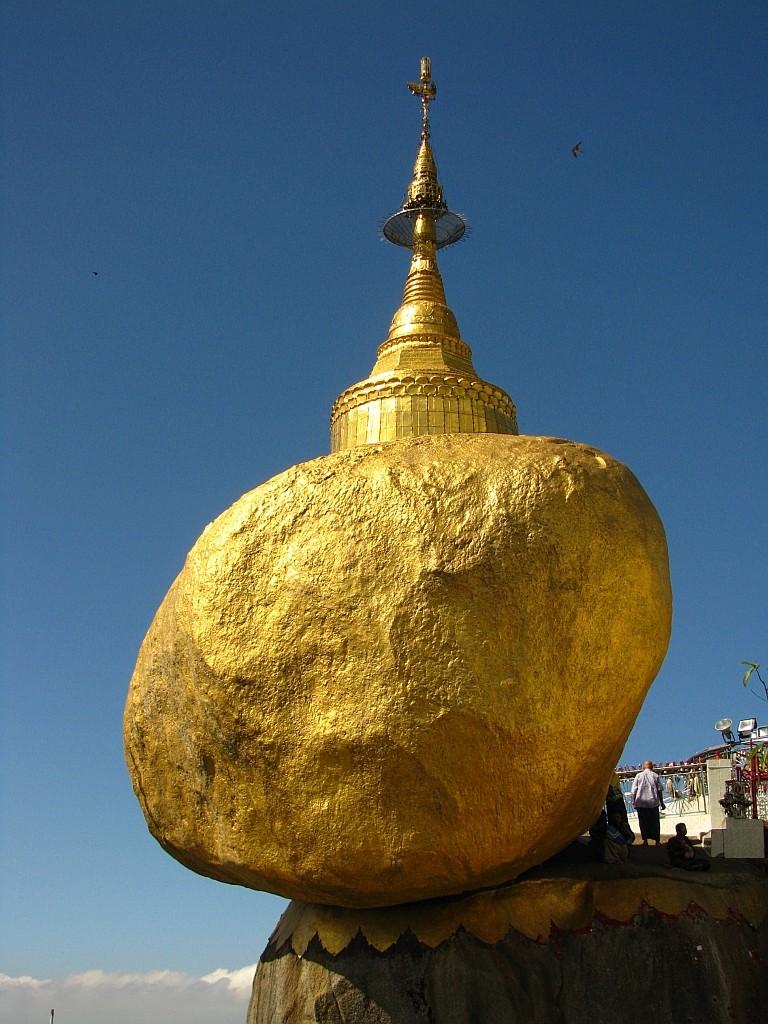 Zdjęcia: Kyaiktiyo, okolice Bago, Złota Skała 1, MYANMAR