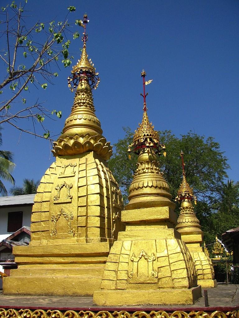 Zdjęcia: Dilah, Delta Yrawadi, wiejski klasztor, MYANMAR