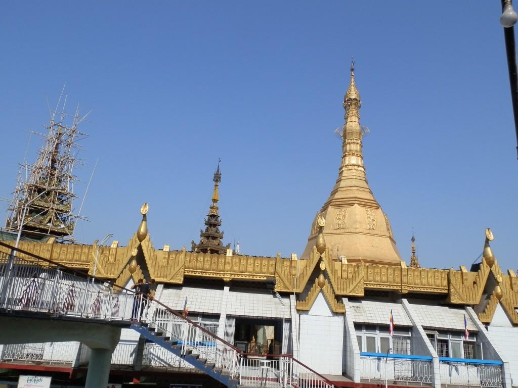 Zdjęcia: Dawna stolica, Rangon, Złote dachy, MYANMAR