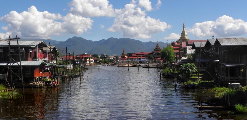 Zdjęcia: Nga Phe Chaung, Jezioro Inle, Wodny świat 1, MYANMAR