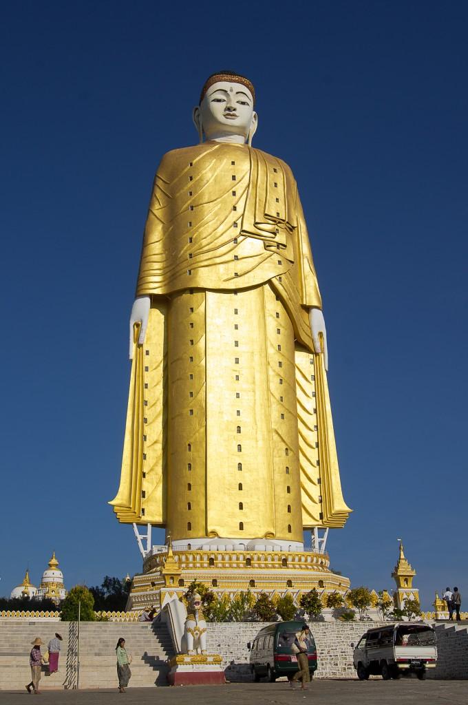 Zdjęcia: jw, Monywa, Wieżowiec, MYANMAR