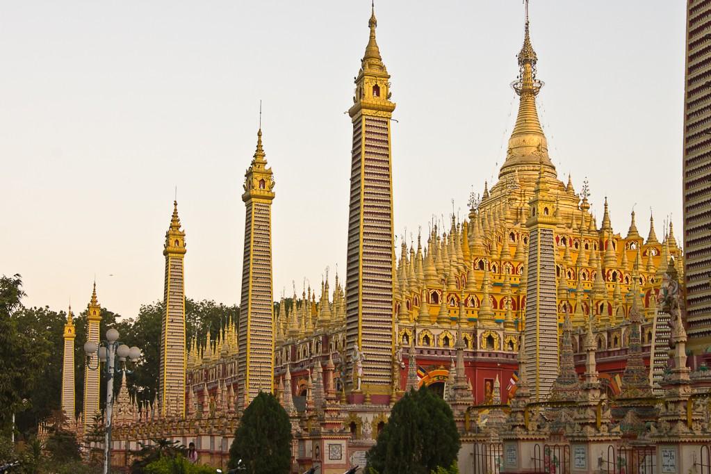 Monywa Myanmar  City new picture : Zdjęcia: Monywa, Monywa, Thanboddhay Pagoda, MYANMAR