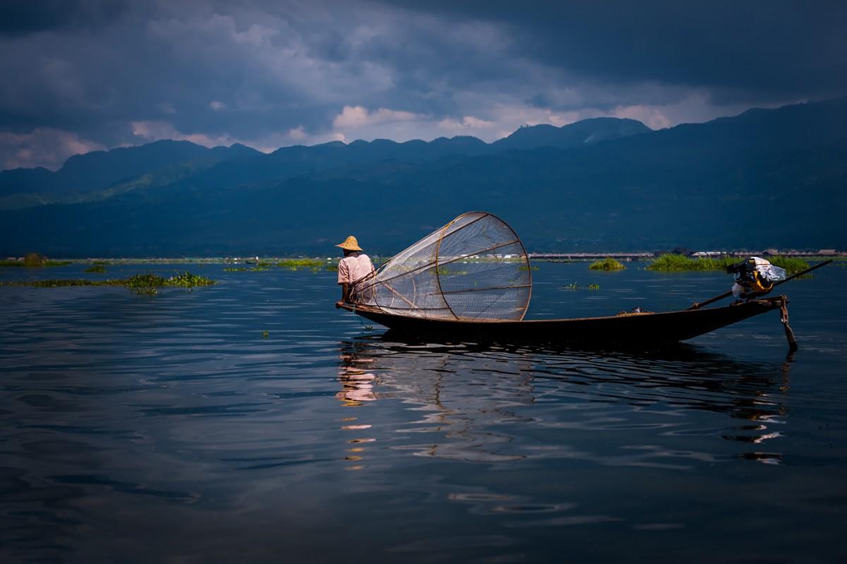 Zdjęcia: Inle Lake, Inle Lake, MYANMAR