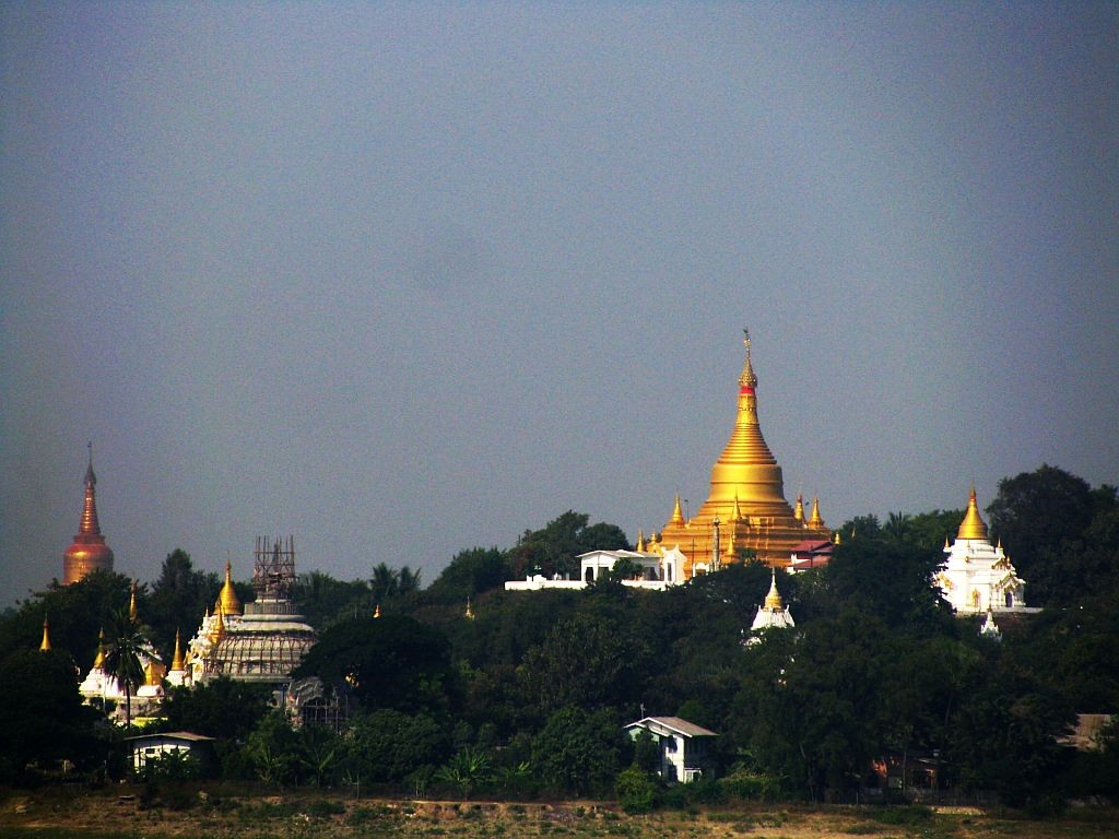 Zdjęcia: Sagaing, okolice Mandalay, Wzgórza Sagaing, MYANMAR