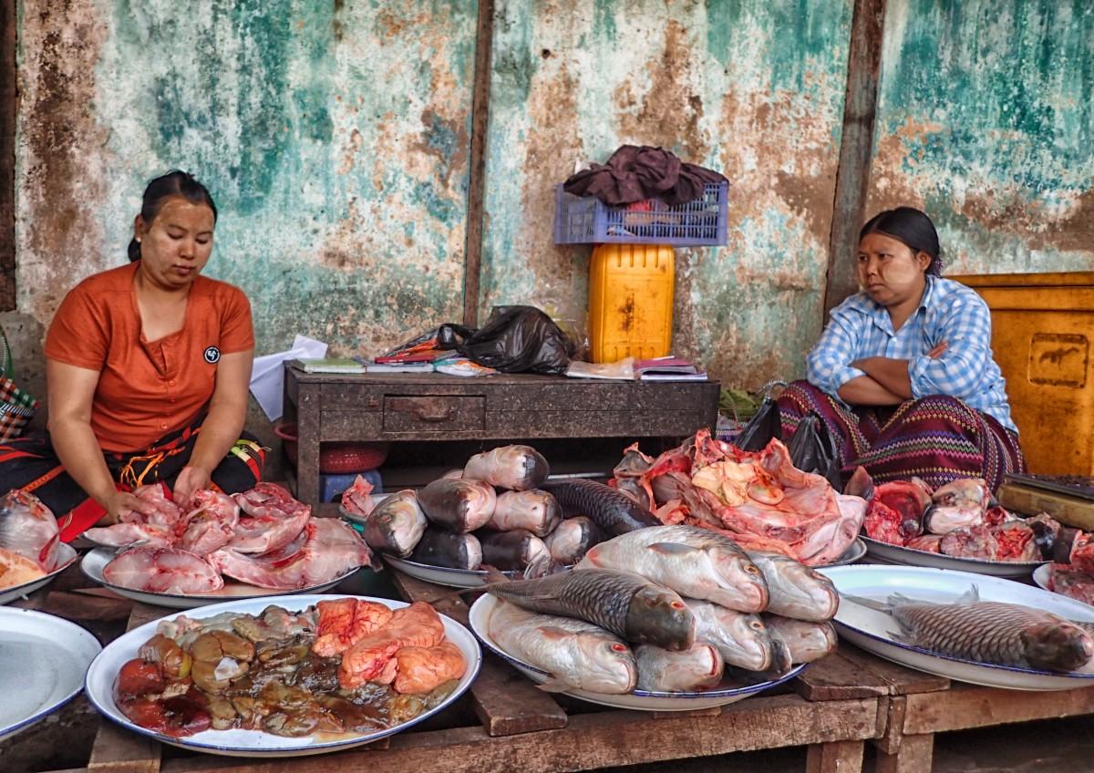 Zdjęcia: Bagan, prowincja Mandalay, Taaaka ryba, MYANMAR