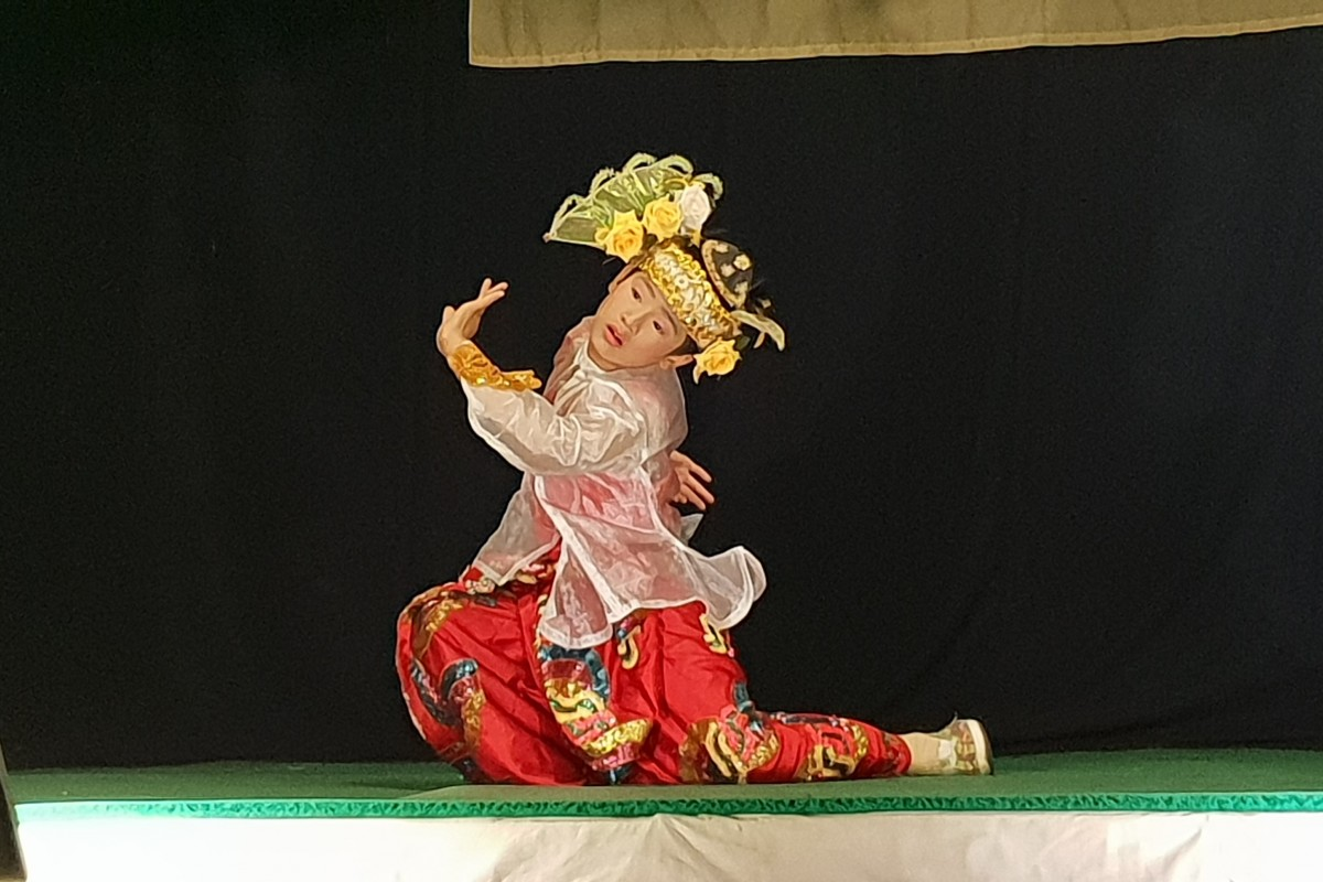 Zdjęcia: Mandalay, Mandalay, Prawdziwy mynamarski teatr, MYANMAR