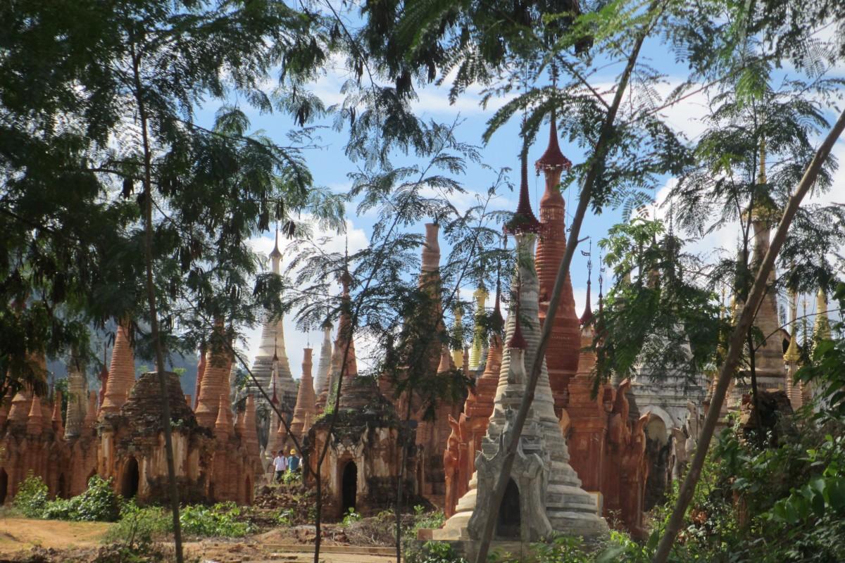 Zdjęcia: Indein, Inn LAke, Zaczarowane Indein, MYANMAR