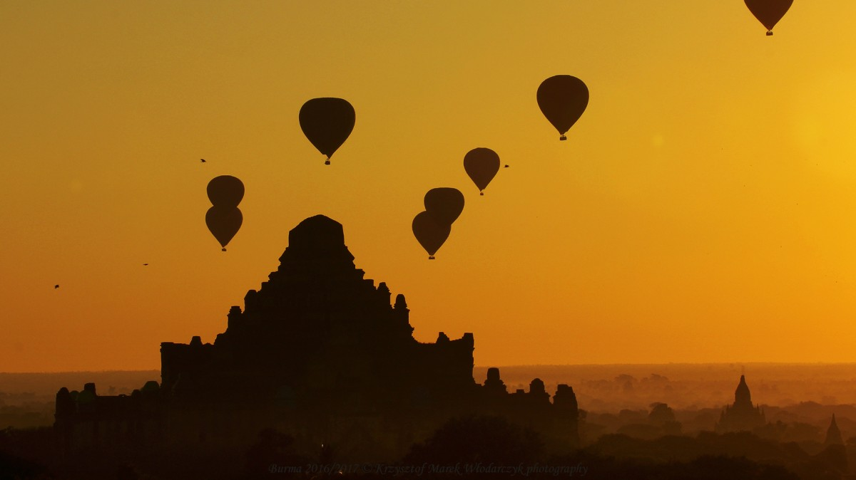 Zdjęcia: Bagan, Mandalaj, Myanmar (Birma), Bagan, świątynia Dhammayangyi, MYANMAR